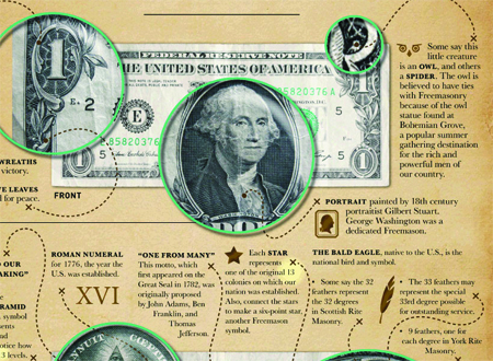 El billete de dólar esconde secretos
