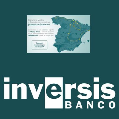 Inversis Banco organiza un ciclo de conferencias de formación sobre CFDs y Divisas