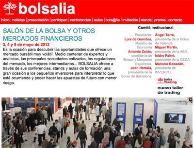 Bolsalia abre sus puertas