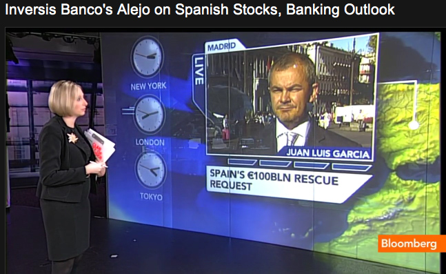 Inversis Banco's Alejo on Spanish Stocks, Banking Outlook