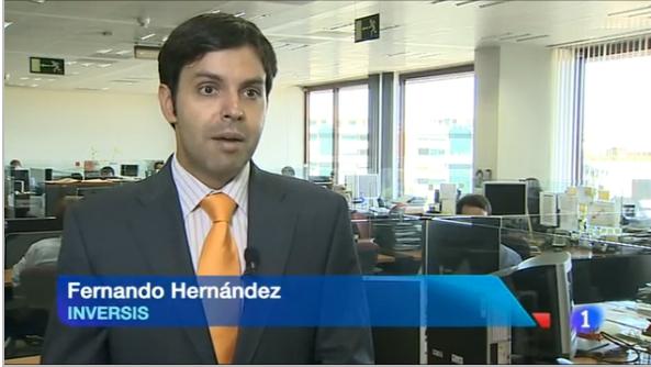 """Fernando Hernández: """"El mercado está interpretando que la situación se va a calmar"""""""