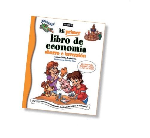 'Mi primer libro de economía', ahorro e inversión desde niños