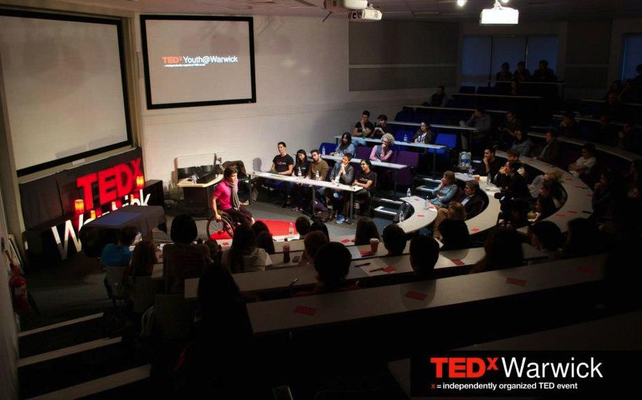 """TEDxWarwick: """"Tener un balance y un control en tu vida lleva a que todo salga mejor"""""""