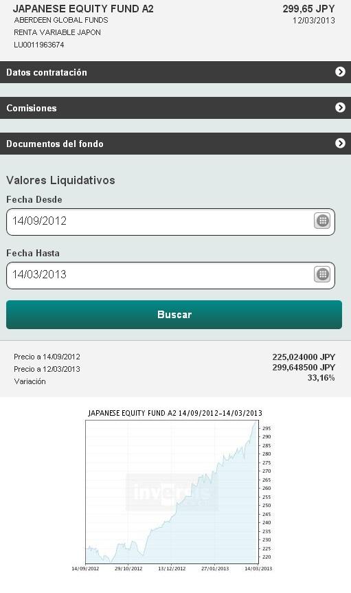 Las versiones web mobile y web tablet de Inversis estrenan un buscador de fondos
