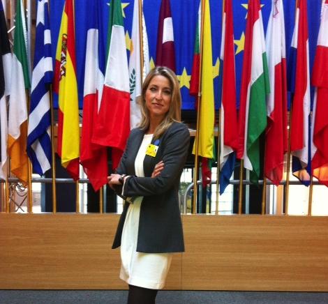 """María Muñoz (I): """"#EuropeIN ha supuesto revivir el espíritu europeísta de los 90"""""""