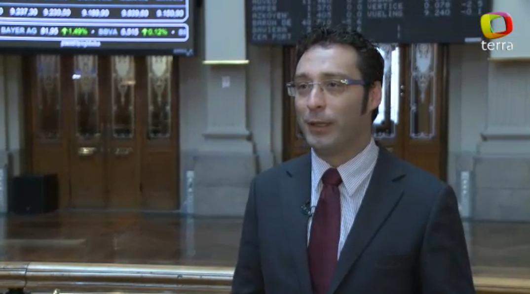 """David Navarro: """"Si el mercado europeo se anima será por el sector financiero"""""""