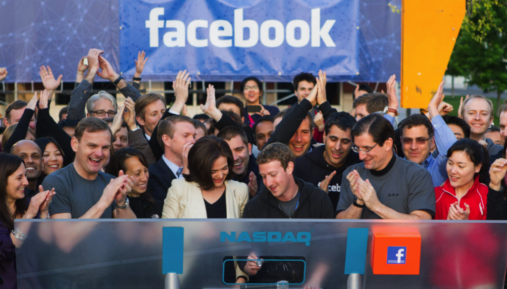 Infografía: Facebook, un año en Bolsa