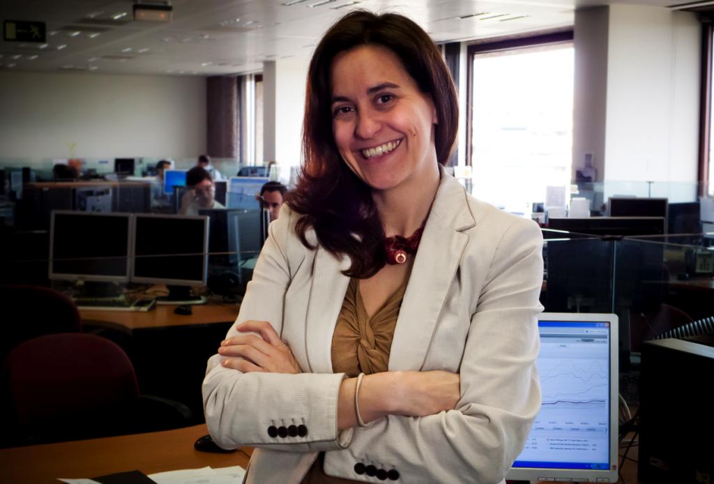 """Gabriela Vara: """"Estamos bajistas en el euro-dólar, con objetivo en los 1.25"""""""