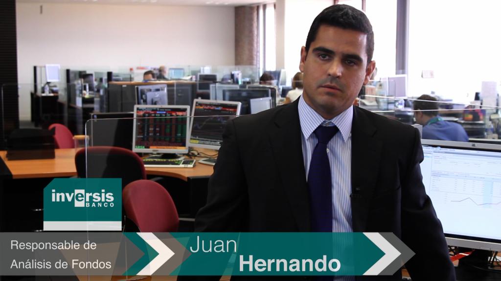 Juan Hernando: 'Si se confirma la mejoría económica, los fondos se verían beneficiados'