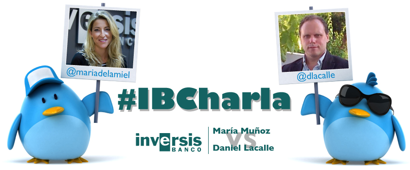 BCE, Fed y 'comprar España', puntos destacados en la #IBcharla de @mariadelamiel y @dlacalle