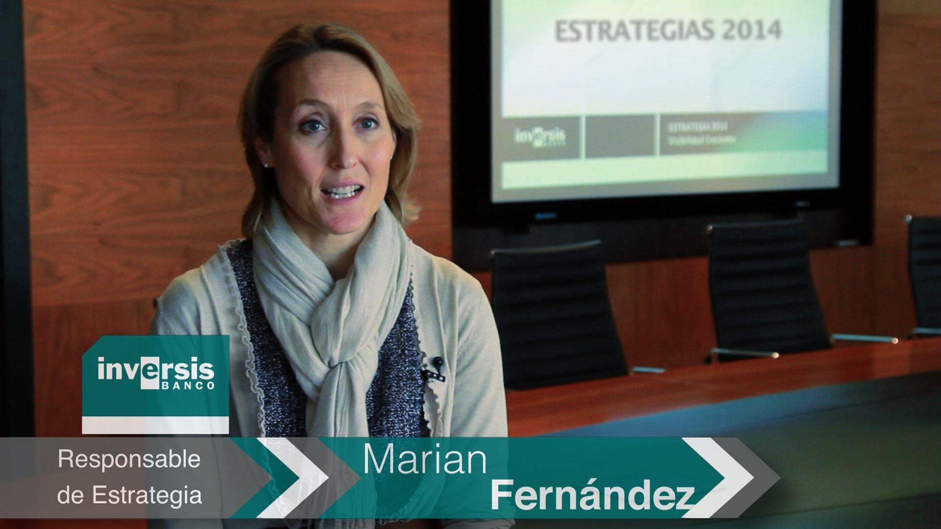 """Marian Fernández: """"Los países desarrollados toman el relevo de los emergentes en el crecimiento para 2014"""""""