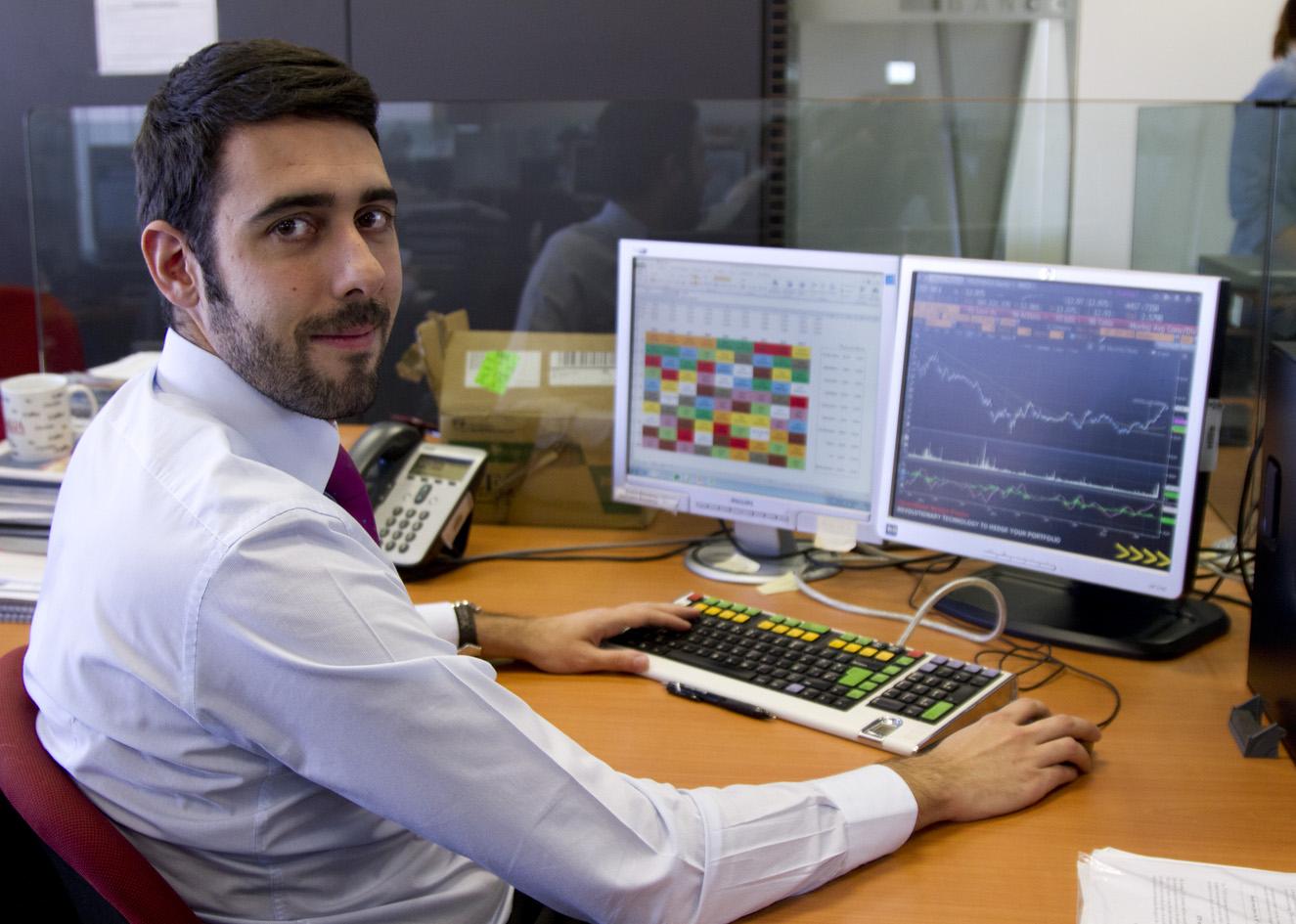 """David Sánchez: """"La mejora de los resultados empresariales en Europa empujará a los índices"""""""