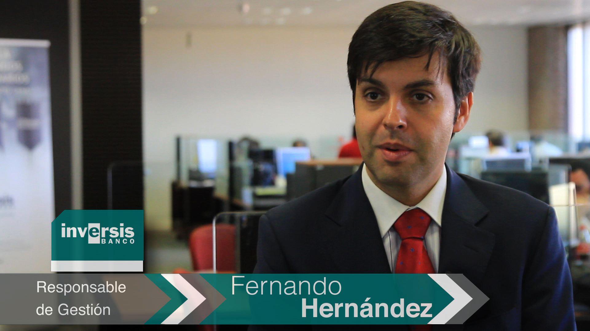 """Fernando Hernández: """"2014 y previsiblemente 2015 van a ser años de crecimiento económico"""""""