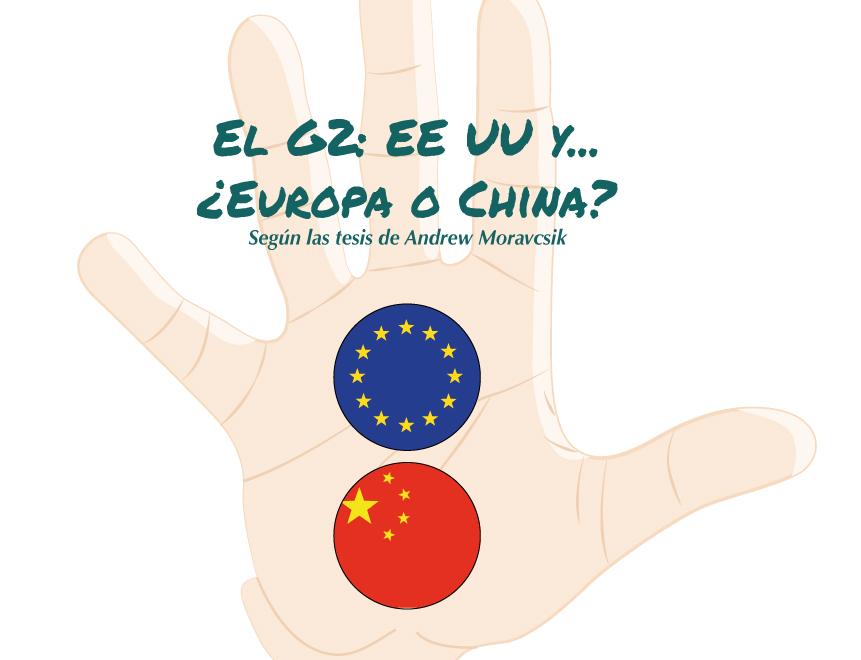 Infografía. El G2: EEUU y… ¿Europa o China?