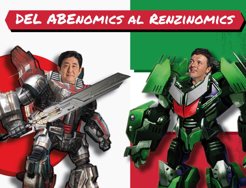 Infografía: Del Abenomics… Al Renzinomics