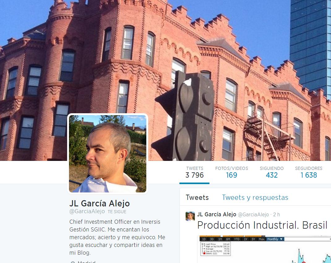 García Alejo, elegido como uno de los 30 gurús del trading en Twitter