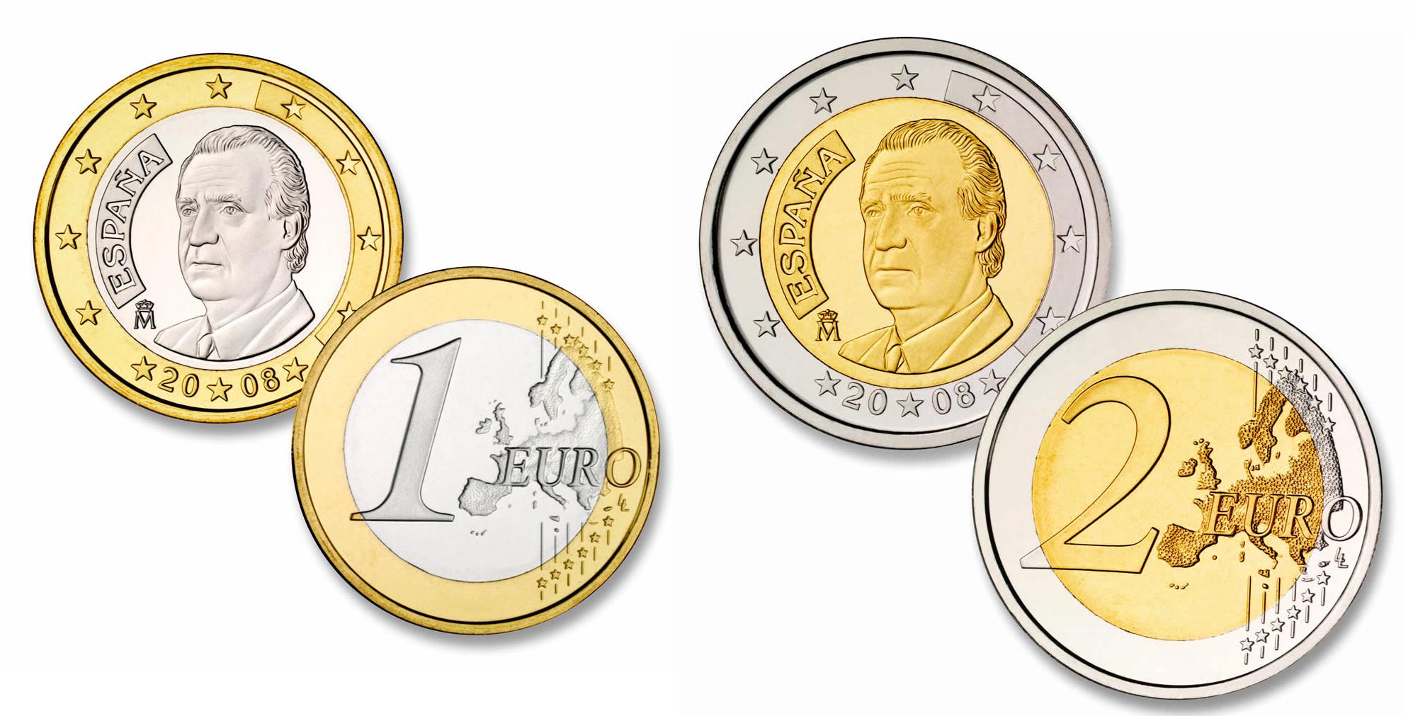 El BCE aprobará en diciembre la emisión de las nuevas monedas de Felipe VI