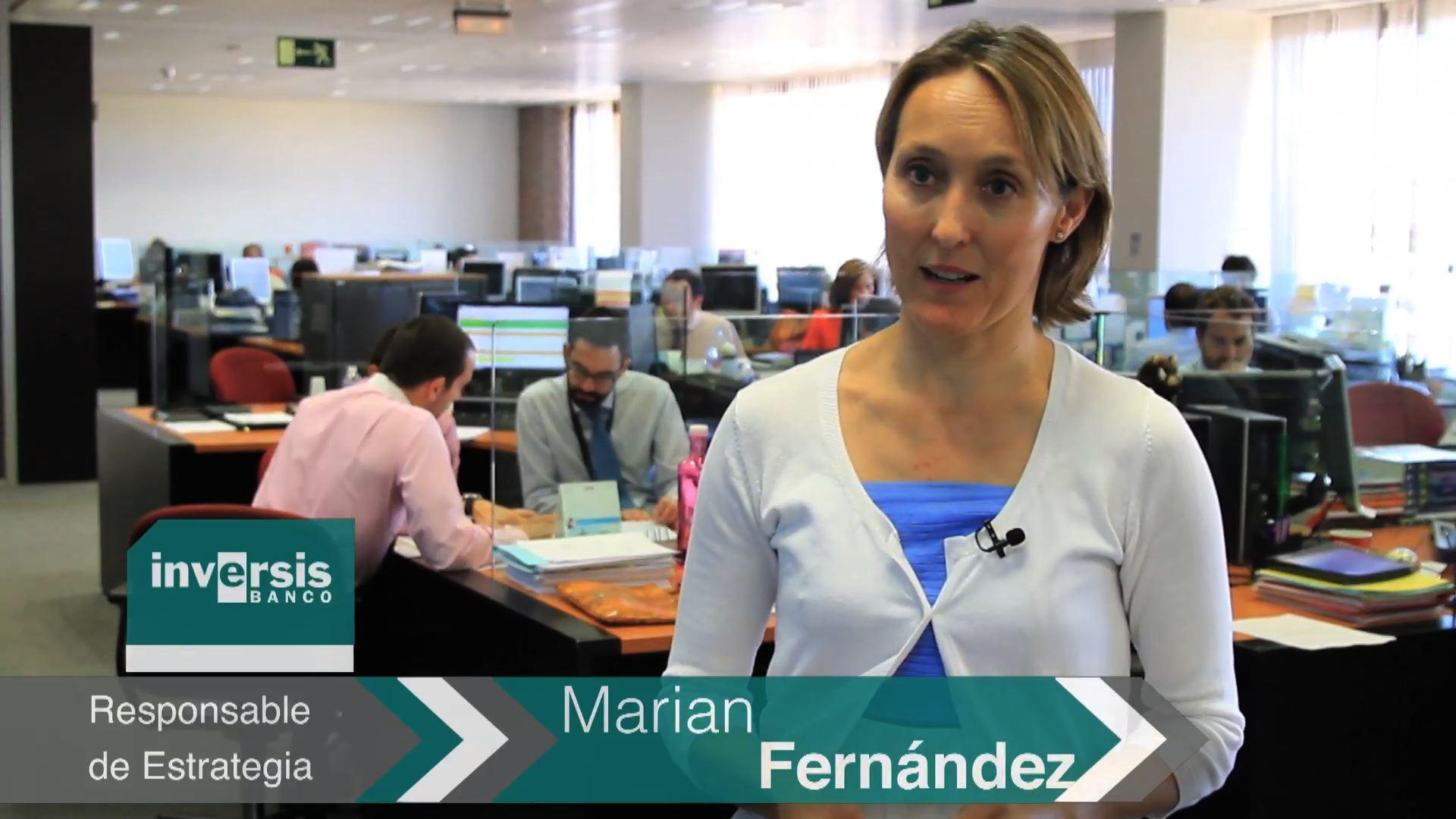 """Marian Fernández: """"Somos optimistas con la renta variable y con Europa y Japón como favoritos"""""""