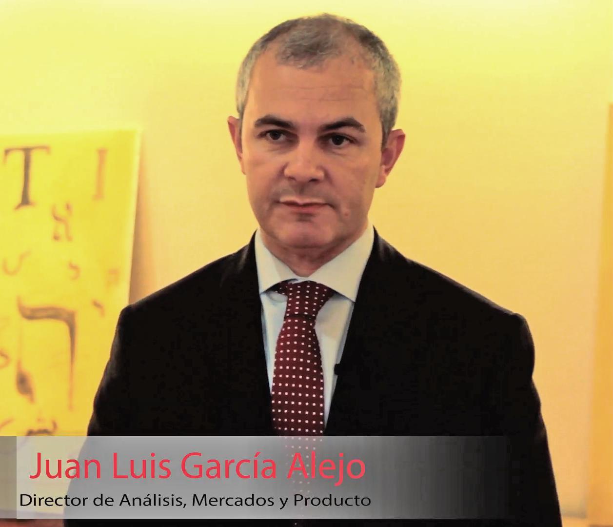 """Juan Luis García Alejo: """"Al Ibex le vemos un potencial del 8-9% para 2015"""""""