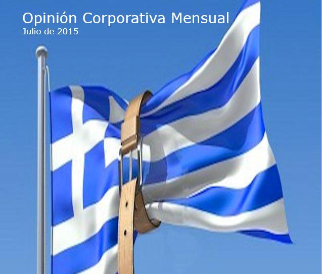 Opinión corporativa julio 2015: perspectivas de la economía y los mercados financieros