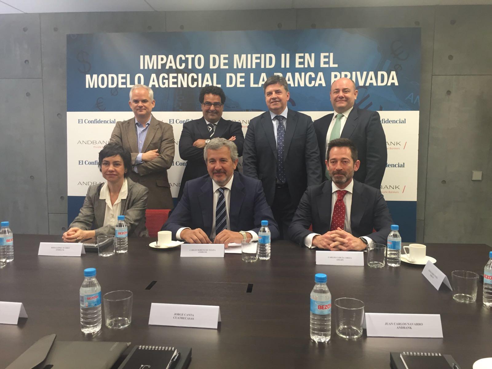 Mesa Redonda El Confidencial -Andbank: ¡Que viene la MiFID II!