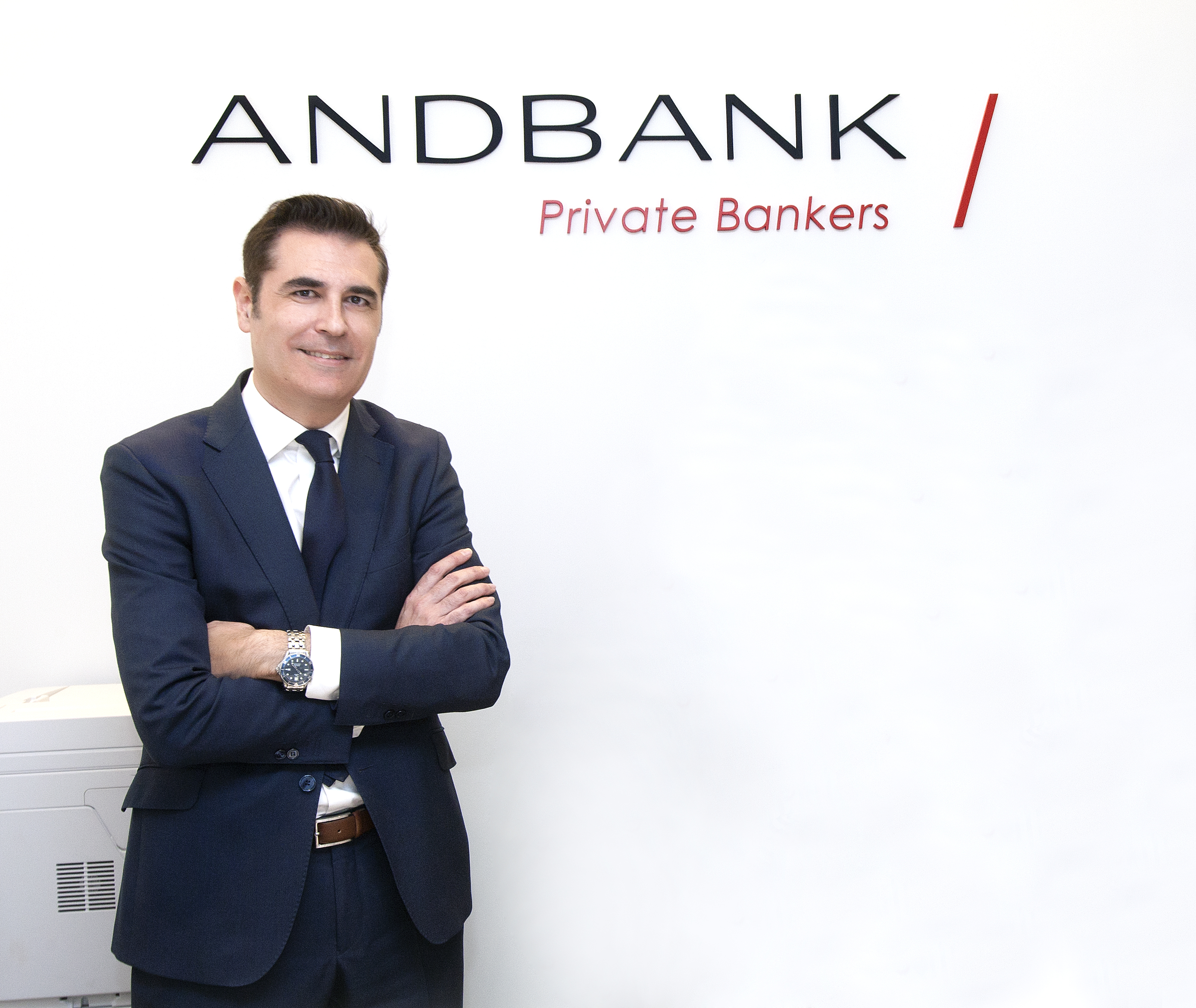 Fernando Oteo, nuevo banquero privado de Andbank en Logroño