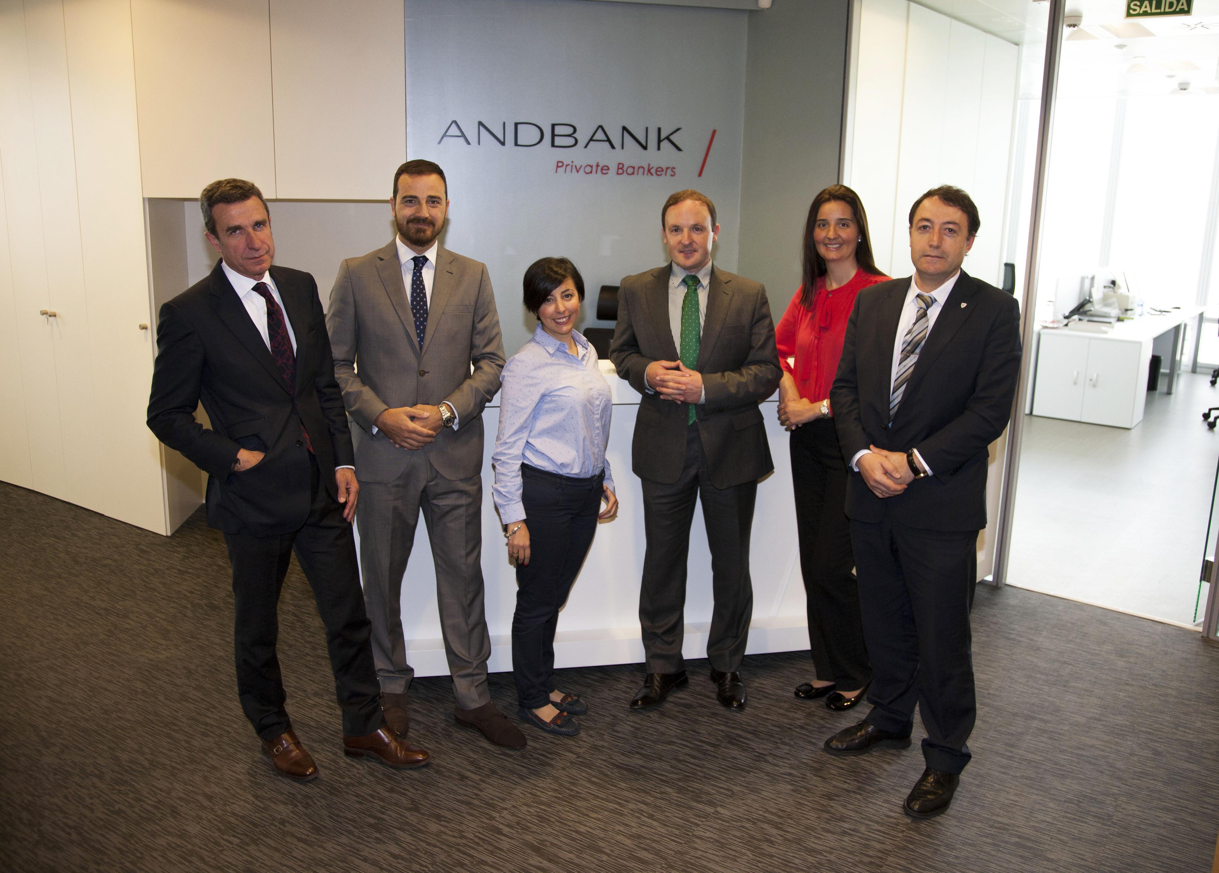 Andbank traslada su oficina de bilbao a la torre iberdrola for Oficinas iberdrola madrid
