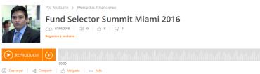 Así ha sido Fund Selector Summit 2016 #podcastAndbank