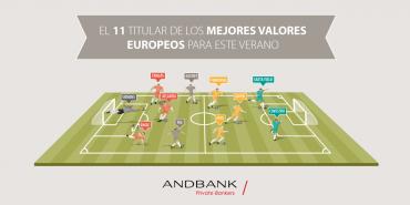 El once titular de los mejores valores europeos para este verano -Infografía