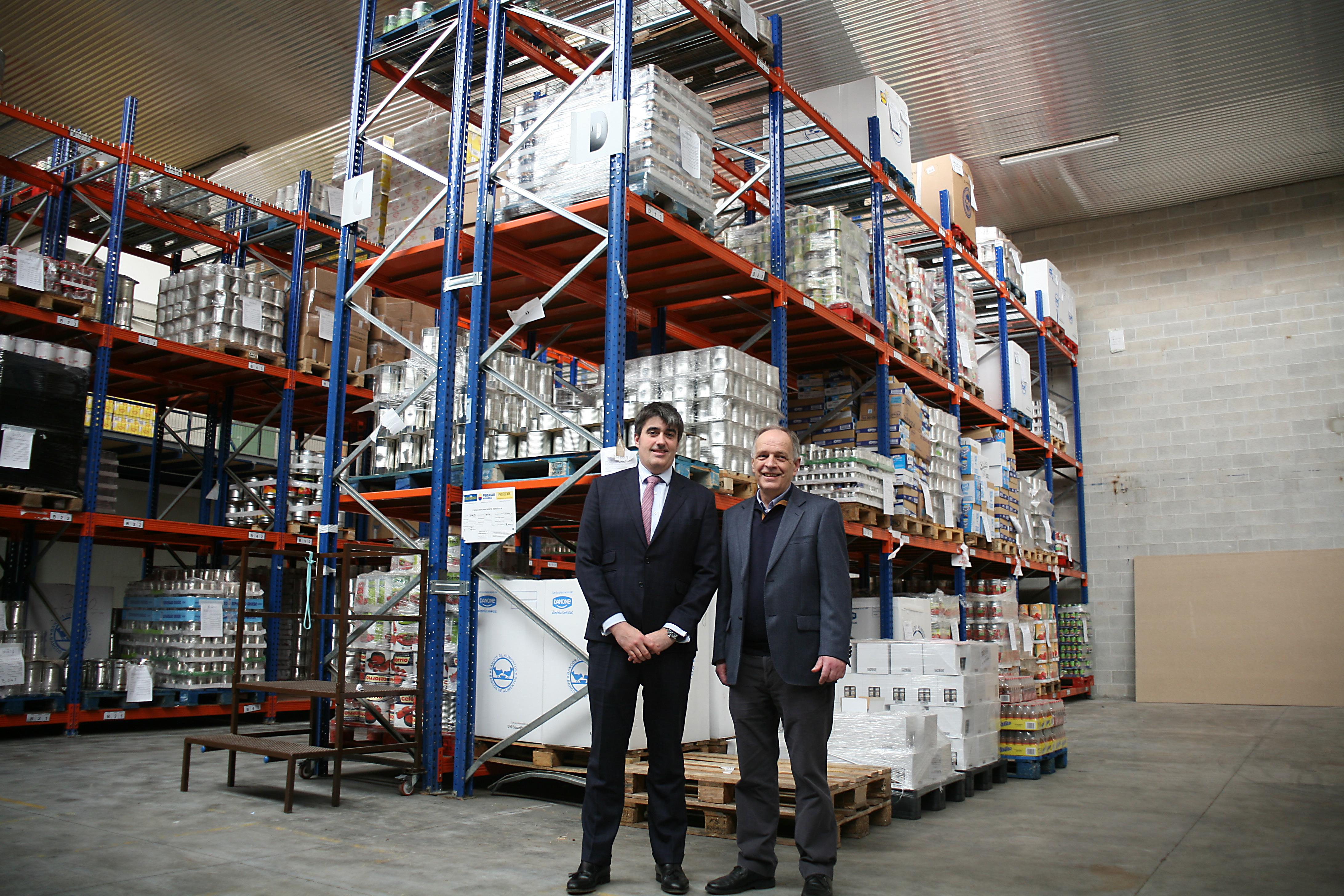 Andbank España y el Banco de Alimentos se unen para mejorar la distribución de alimentos en Navarra