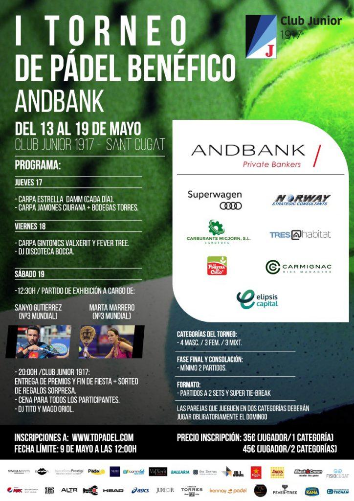 Torneo padel Andbank España