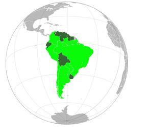 Andbank mapamundi Latinoamerica
