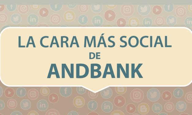 La cara más social de Andbank – Infografía