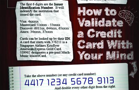 Lo que esconde tu tarjeta de crédito