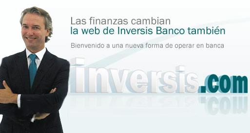 Inversis Banco presenta su nueva página Web