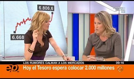 """María Muñoz: """"El final de la incertidumbre relajará los mercados"""""""