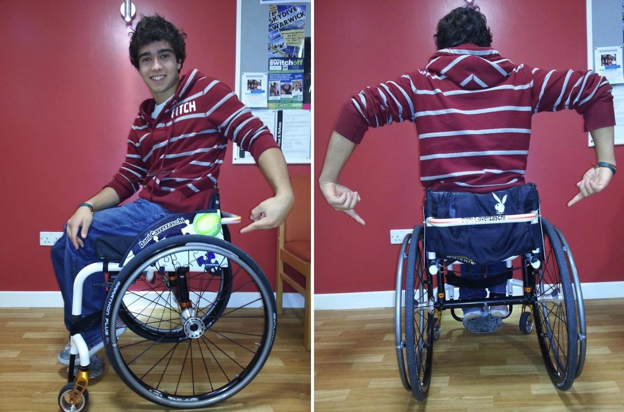 "Una silla de calle al ""estilo Dani"""