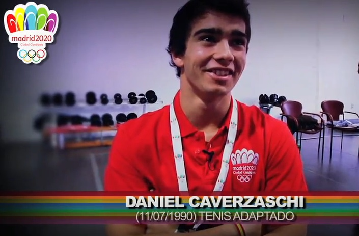 Dani, promesa del deporte en Madrid 2020