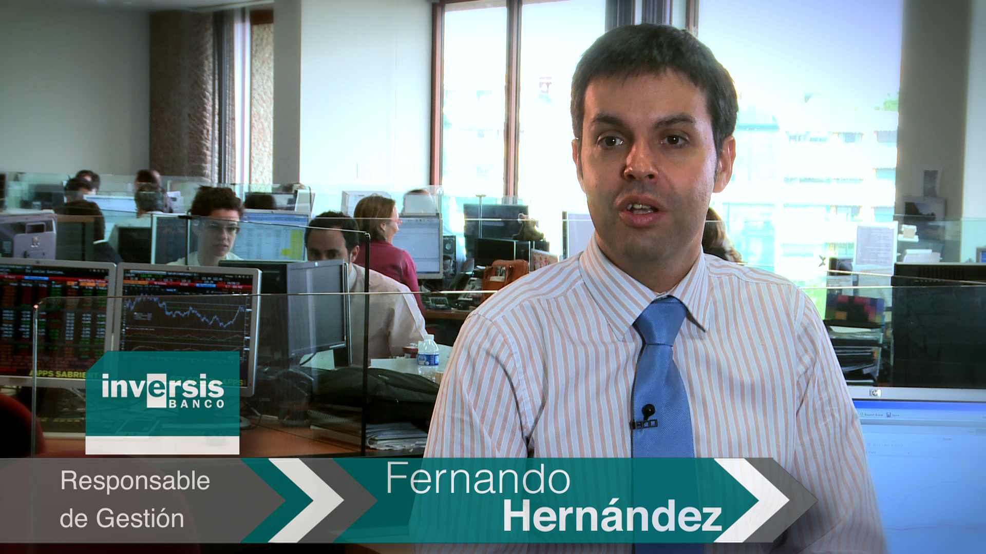 """Fernando Hernández: """"El objetivo a largo plazo para el Ibex es situarse en los 9.000 puntos"""""""
