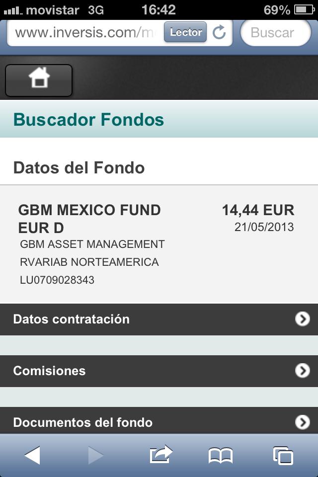 Traspasos externos de fondos, ya disponibles en las versiones web mobile y web tablet de Inversis