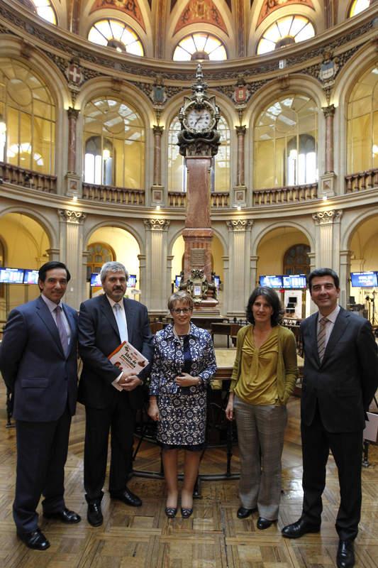Lecciones de economía para niños en la Bolsa de Madrid