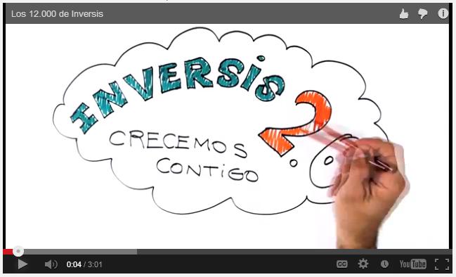 Inversis celebra con un vídeo conmemorativo el haber alcanzado los 12.000 seguidores