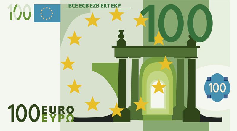 Infografía. El gasto de los PGE 2014… en un billete de 100€