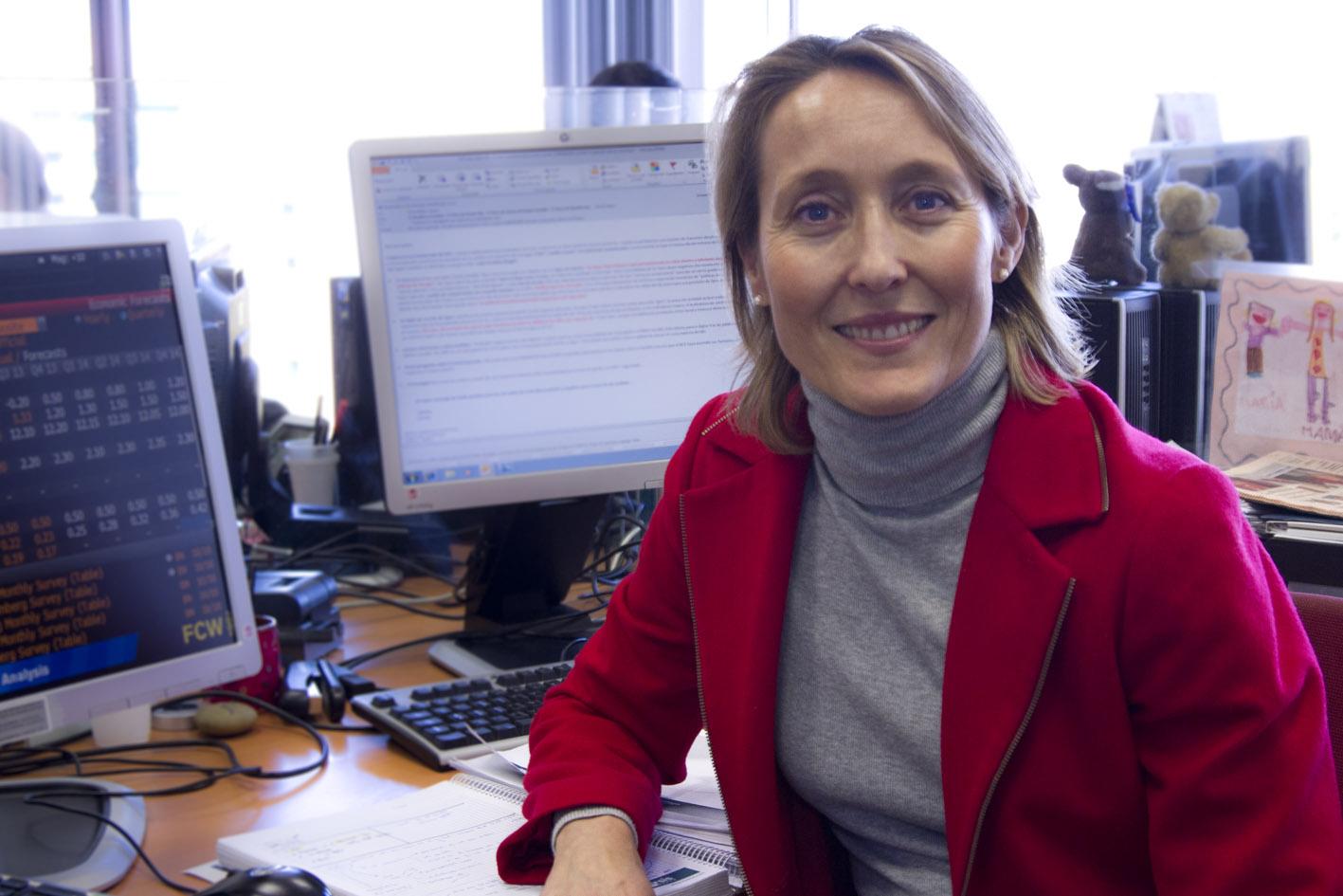 """Marian Fernández: """"La bajada de tipos no se debe a un temor a la deflación"""""""