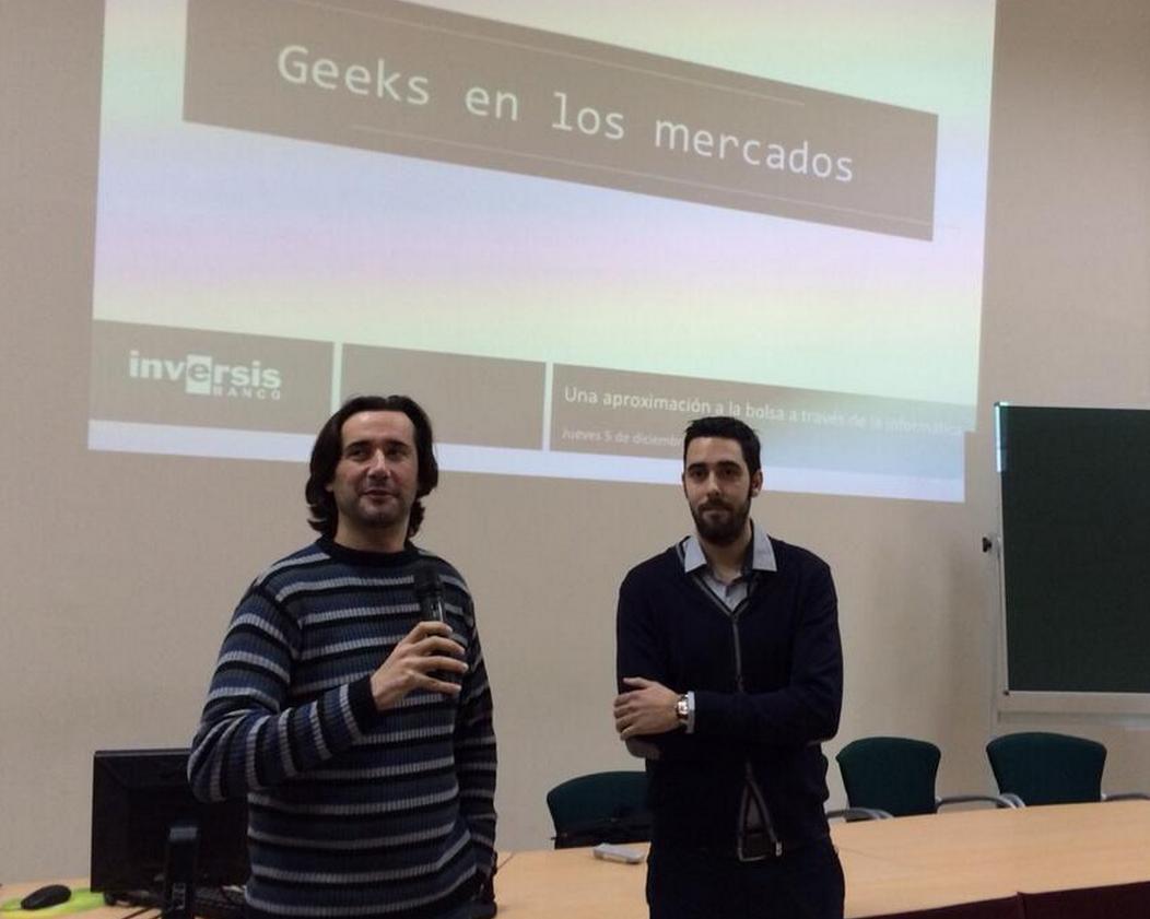 David Sánchez: «Un pestañeo son 5.000 mensajes de ida y vuelta a cualquier bolsa del mundo»