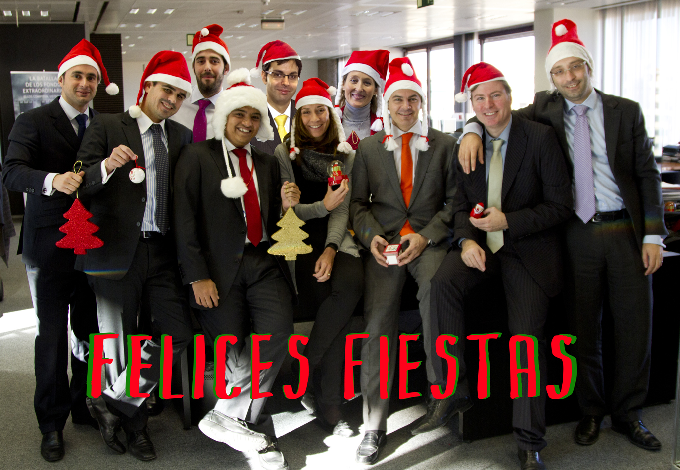 Inversis te desea Felices Fiestas y lo mejor para 2014