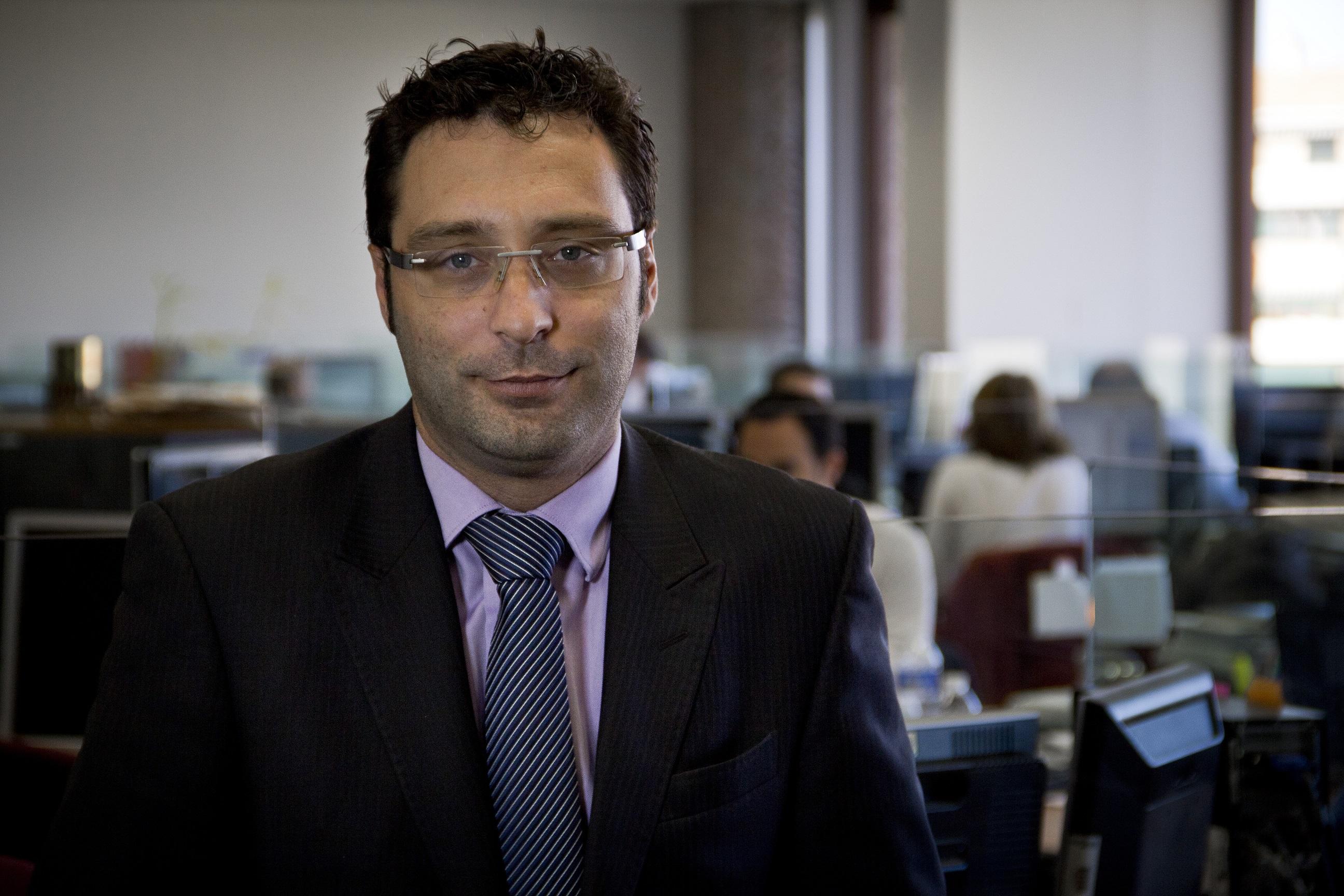 """David Navarro: """"Después de una OPV, como la de Aena, con este éxito siempre hay un goteo a la baja"""""""