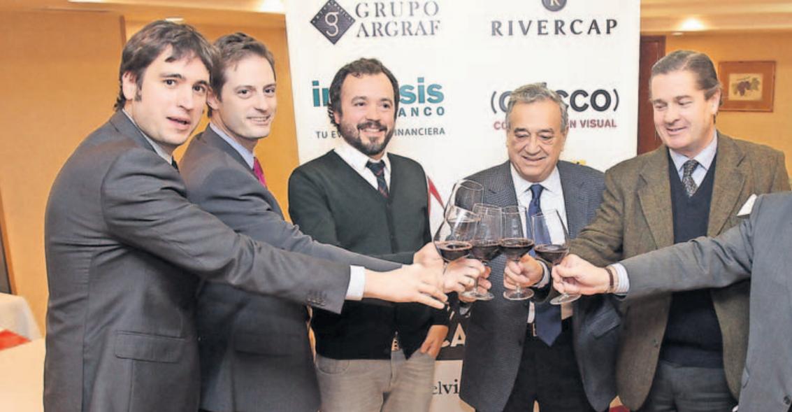Inversis apoya al mundo del vino, patrocinando el Club de Catas de La Rioja