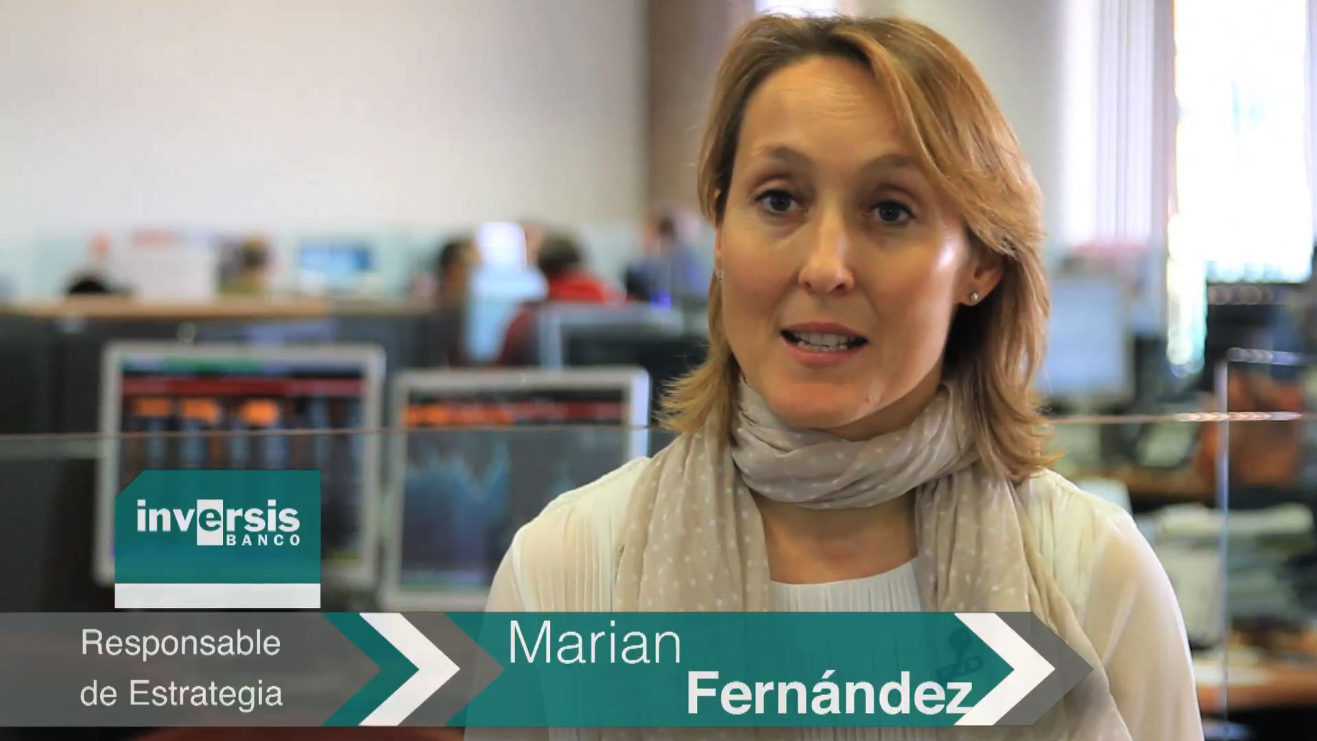 Marian Fernández: «No hay presión desde los datos para incrementar el ritmo del tapering»