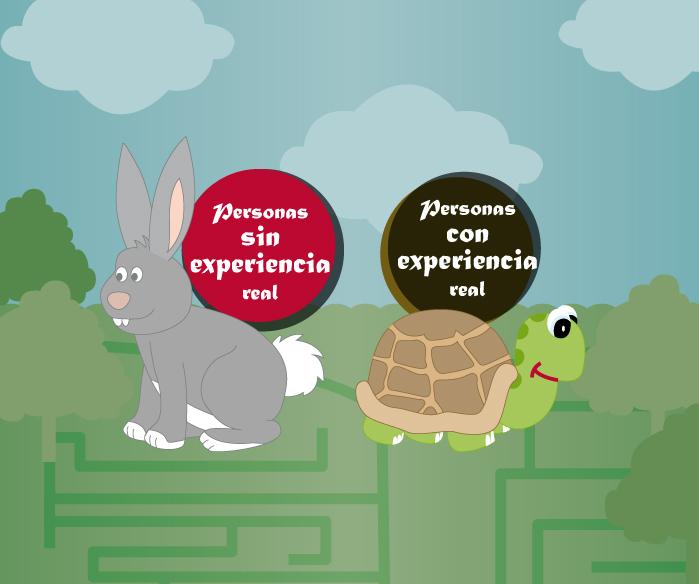 Infografía: ¿Cuánto vale la experiencia?